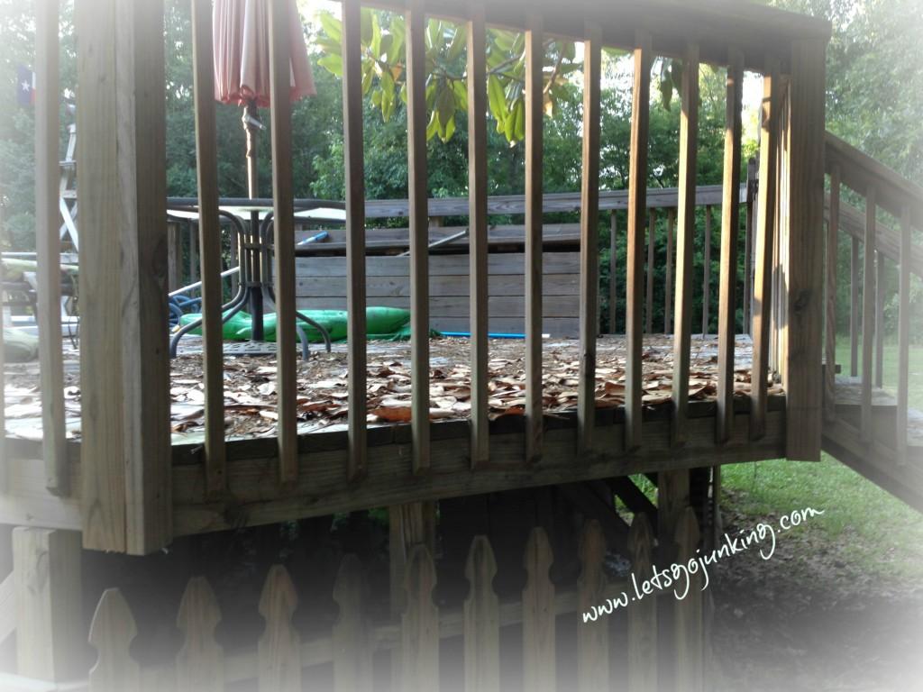 Deck before wm