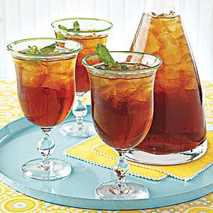 mint iced tea