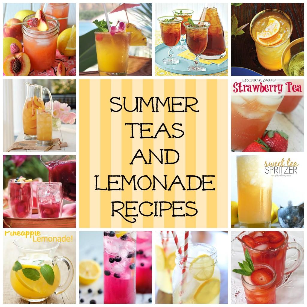 Summer Teas and Lemonade