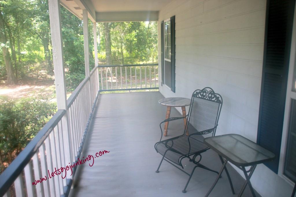 1st front porch