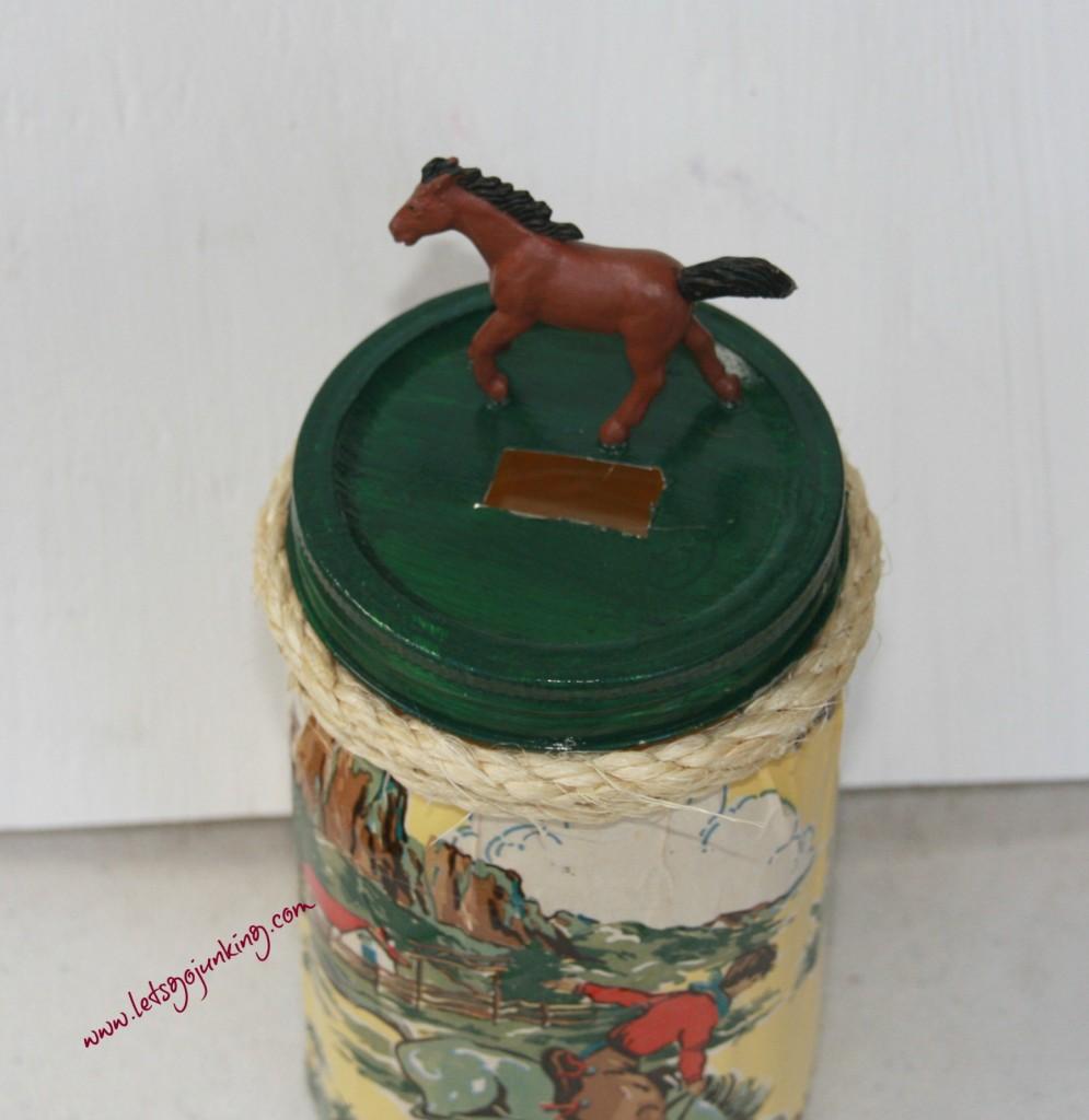 mason jars and horses 2