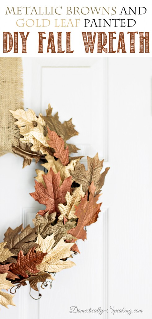 Metallic-Brown-and-Gold-Leaf-Wreath