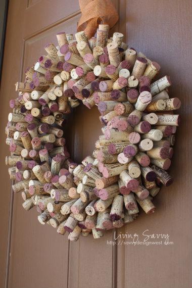 cork wreath savvy design west
