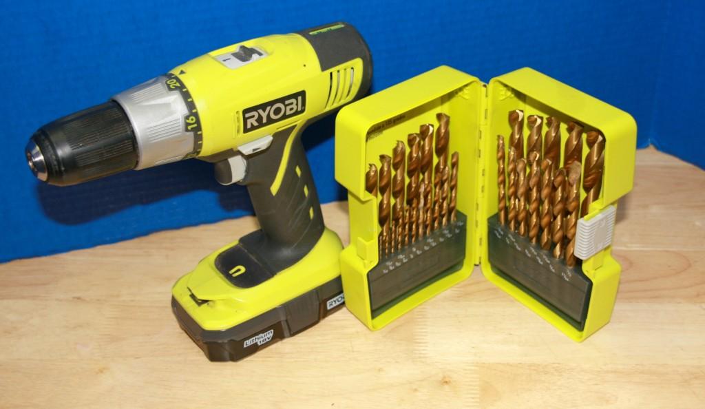 drill and bit