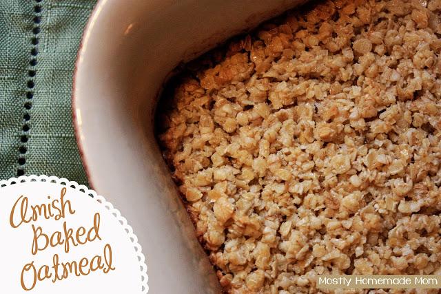 Amish Baked Oatmeal 1