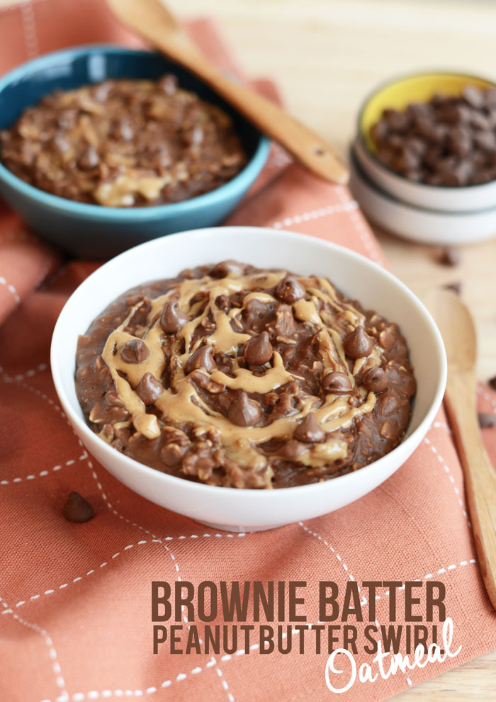 brownie batter peanut butter swirl
